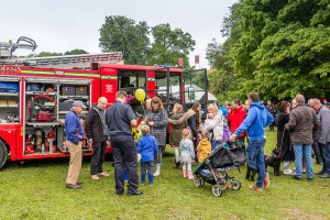 PARTY IN PARK FIRE ENGINE